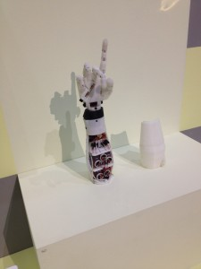 InMoov First 3D printed prosthetic Open Source Palais de Tokyo Paris